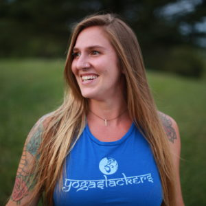 YogaSlackers Teacher Jenni Saddler