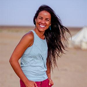YogaSlackers Teacher Luz Raquel Hernandez-Cruz