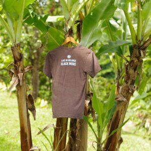 Slack More t-shirt back