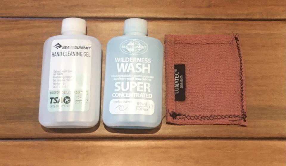 Travel Dishwashing Bag