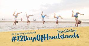 YogaSlackers 12 Days of Handstands