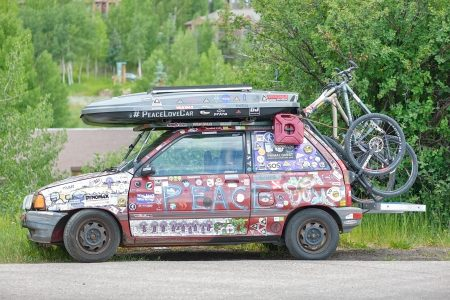 Peace Love Car