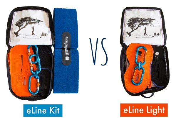 eLine Kit vs eLine 'Light' Kit