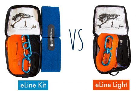 eLine Light vs Complete Kit comparison