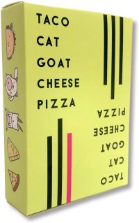 Taco Goat Cheese Pizza Card Game