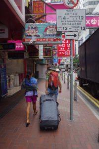 Walking in Hong Kong - by Tom Grundy